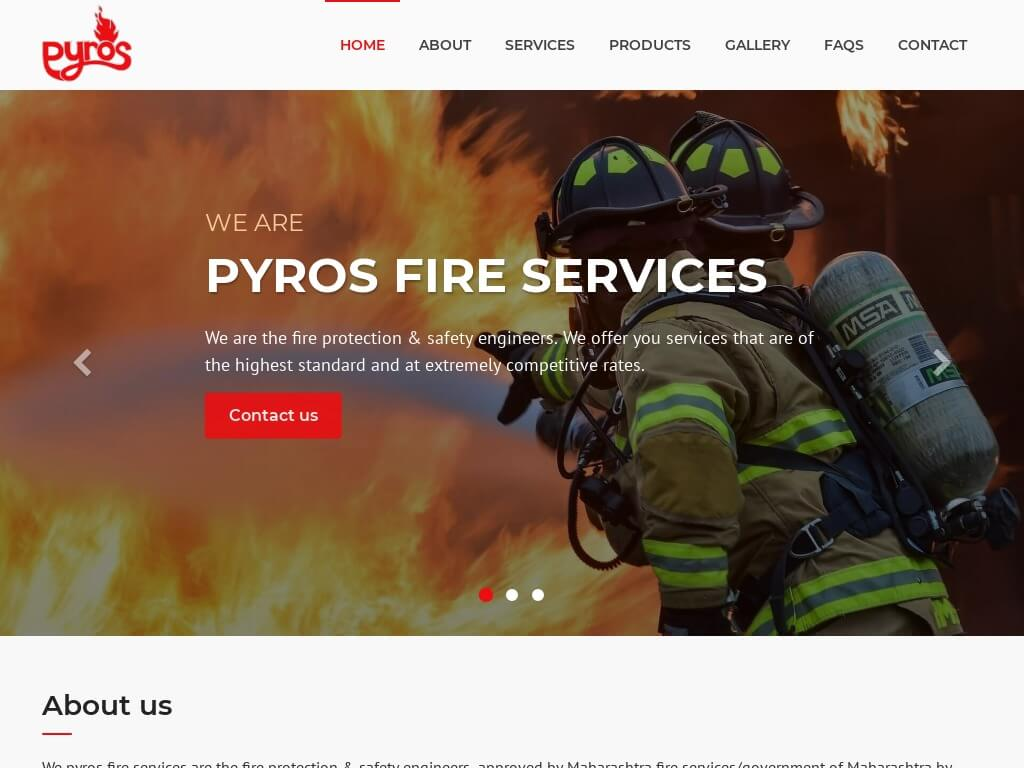 Pyros Fire Services